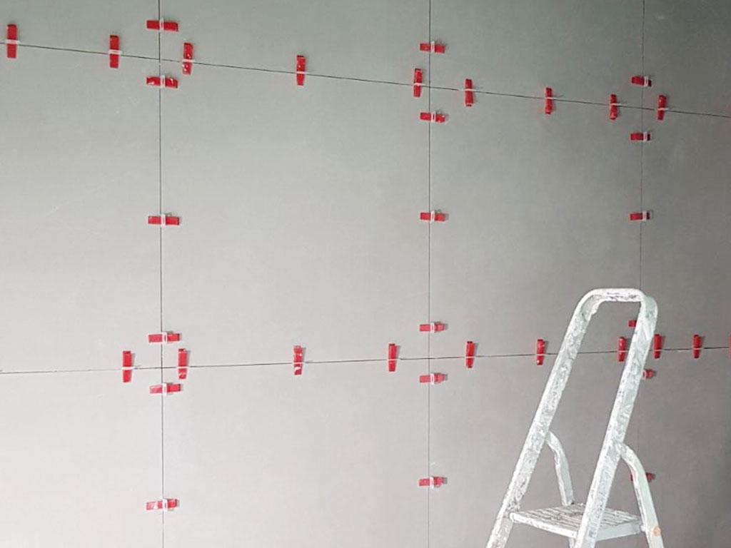 Tegel Leveling Systeem : Perfect geplaatste tegels met de steenbok levelsysteem